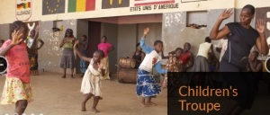 T160K instruments 4 africa childrens troupe