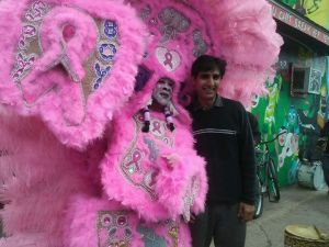 Sana Mardi Gras Indian Treme 2.17.2015