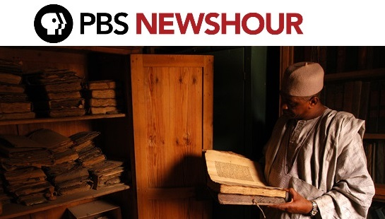 PBS News Hour and Abdel Kader Haidara 2