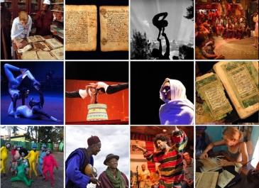 T160K collage dance art music circus Nov 2014